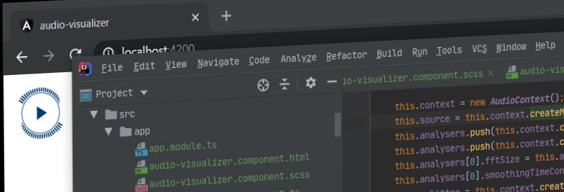 HTMLで使えるオーディオビジュアライザータグを作ってみる